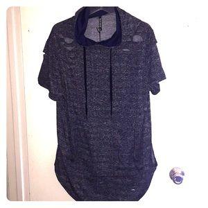 Short sleeve hoodie NWT